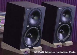 Auralex MoPAD monitorisolatie blokken