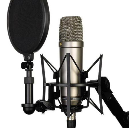 Grootmembraan microfoon