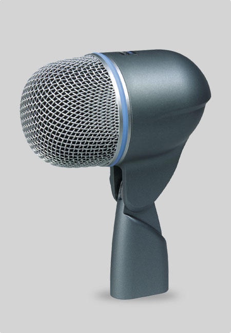 Shure Beta 52 bassdrum microfoon