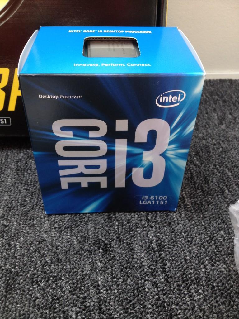 Intel I3-6100