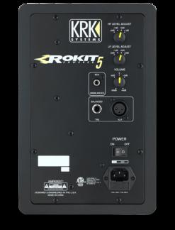 KRK Rokit 5 G3 rear actieve studiomonitor