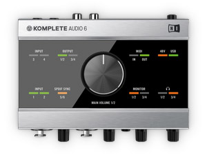 Native instruments KOMPLETE Audio 6 interface